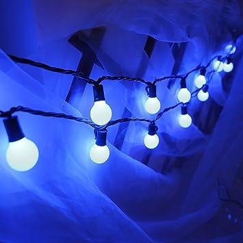 Amazon heavy dutyg40 globe outdoor string lights 17 ft 25 heavy dutyg40 globe outdoor string lights17 ft 25 led garden patio aloadofball Choice Image