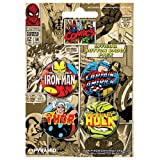 Marvel Comics - Set 2 - Set Of 4 Badge Collection
