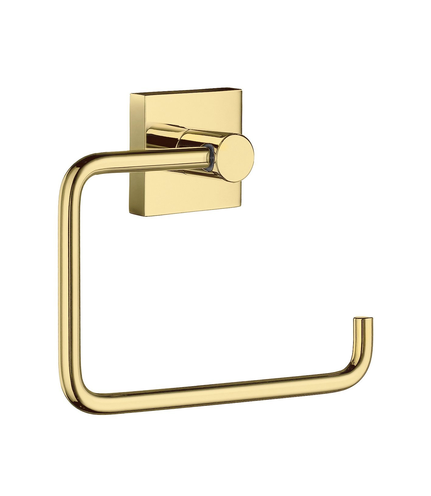 Smedbo SME_RV341 Toilet Roll Euro Holder Without Lid, Polished Brass