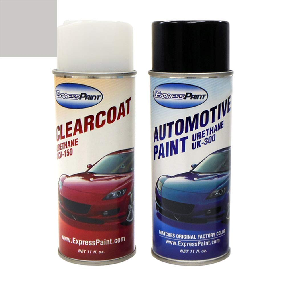 ExpressPaint Aerosol - Automotive Touch-up Paint for Honda Accord - Alabaster Silver Metallic NH-700M - All Inclusive Package by ExpressPaint