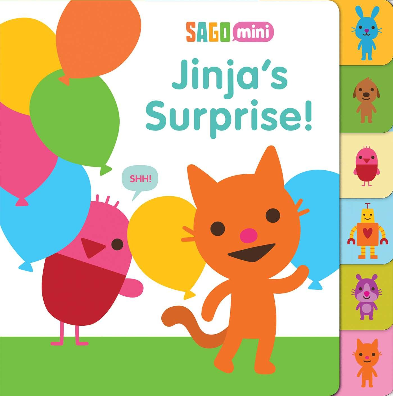 Read Online Jinja's Surprise! (Sago Mini) pdf