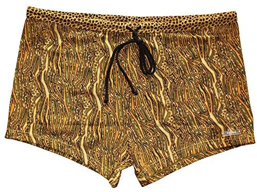 Solar Tan Thru Badehose Panty 7971452-82 braun/gelb