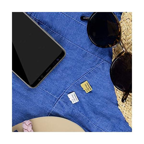 Transcend - Tarjeta microSD 4