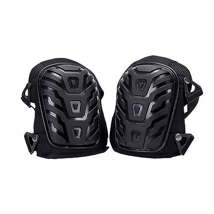 Hothuimin - Rodilleras Profesionales con Acolchado de Espuma Resistente y cómodo cojín de Gel, Resistentes
