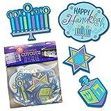 Hanukkah Cutouts - 30 Pack