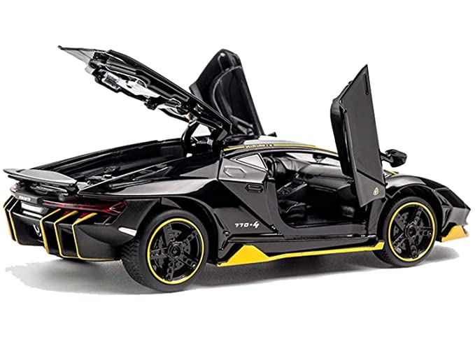 Buy METRO TOY'S & GIFT 1: 32 Alloy Lamborghini Centenario LP 770-4 model  Alloy Sports Car Diecast Model Sound and Light Pull Back Cars Toys, Black  Online at Low Prices in India - Amazon.in