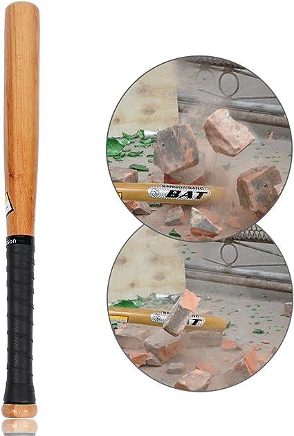 Latinaric Natural Wood Baseball Bat Sport Slugger Wooden Bat Self Defense Rounder Bat 21 25 29 33