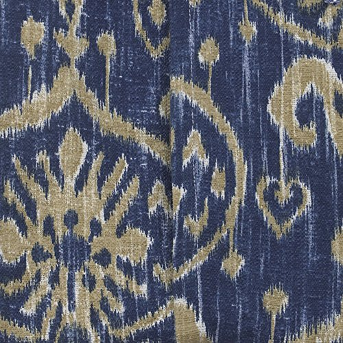 Cotton Tale Designs Sidekick Ikat Fabric, Blue by Cotton Tale Designs