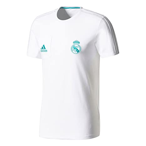 e0983f4b917 Amazon.com   adidas 2017-2018 Real Madrid Training Tee (White ...