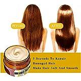 SEFROMAS 60ml Magical keratin Hair Treatment Mask 5 Seconds Repairs Damage Hair Root Hair Tonic Keratin Hair & Scalp Treatment