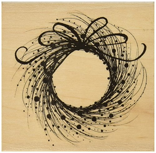 Penny Black 459869 Mounted Rubber Stamp 3.5 by 3.25-Inch, - Etsy Wreath