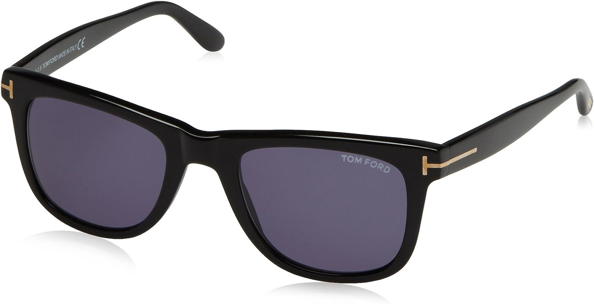 65a991824 Tom Ford Leo Tf336 Ft0336 Authentic Designer Sunglasses 01v Shiny Blk  Glasses