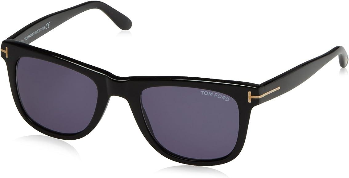 fd647445820af Tom Ford Leo Tf336 Ft0336 Authentic Designer Sunglasses 01v Shiny Blk  Glasses