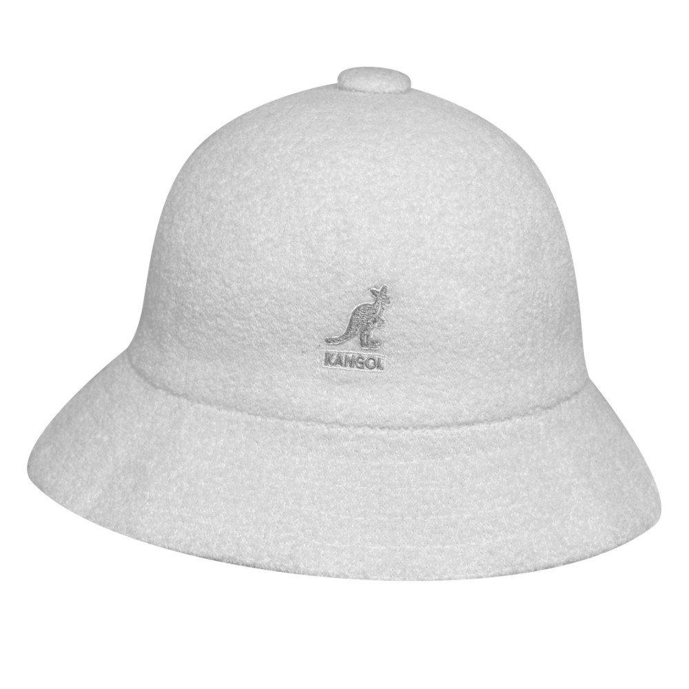 Kangol Unisex-Adult's Bermuda Casual, White, L