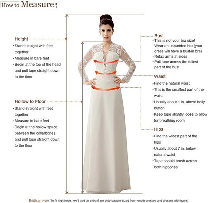 Edith qi Womens Sweetheart Simple A Line Chiffon Wedding Dresses Bridal Gowns