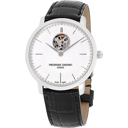 Frederique Constant Slimline Reloj de Hombre automático 40mm FC-312S4S6: Amazon.es: Relojes