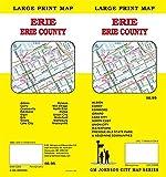 Erie, Pennsylvania Street Map