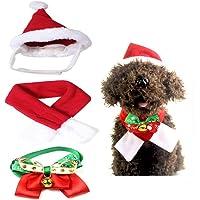 WELLXUNK 4 Piezas de Sombrero Bufanda Collar Campana