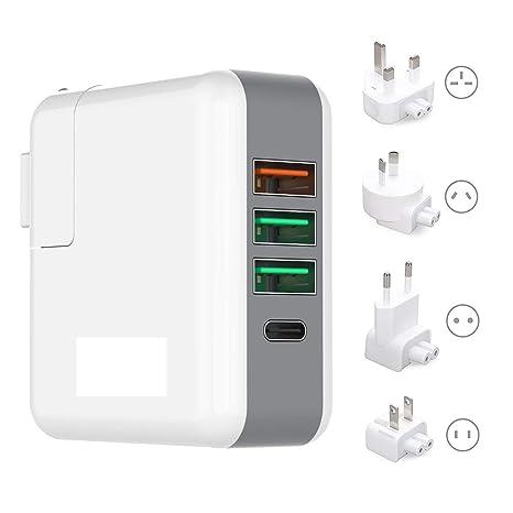 Amazon.com: All-in-One adaptador de cargador Puerto USB ...