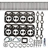 SCITOO Head Gakset Set with Bolts fit Ford F-250 F-350 F-450 F-550 E-350 E-450 E-550 Econoline Super Duty 7.3L 1994-2003 Engine Head Gaskets Set Kits
