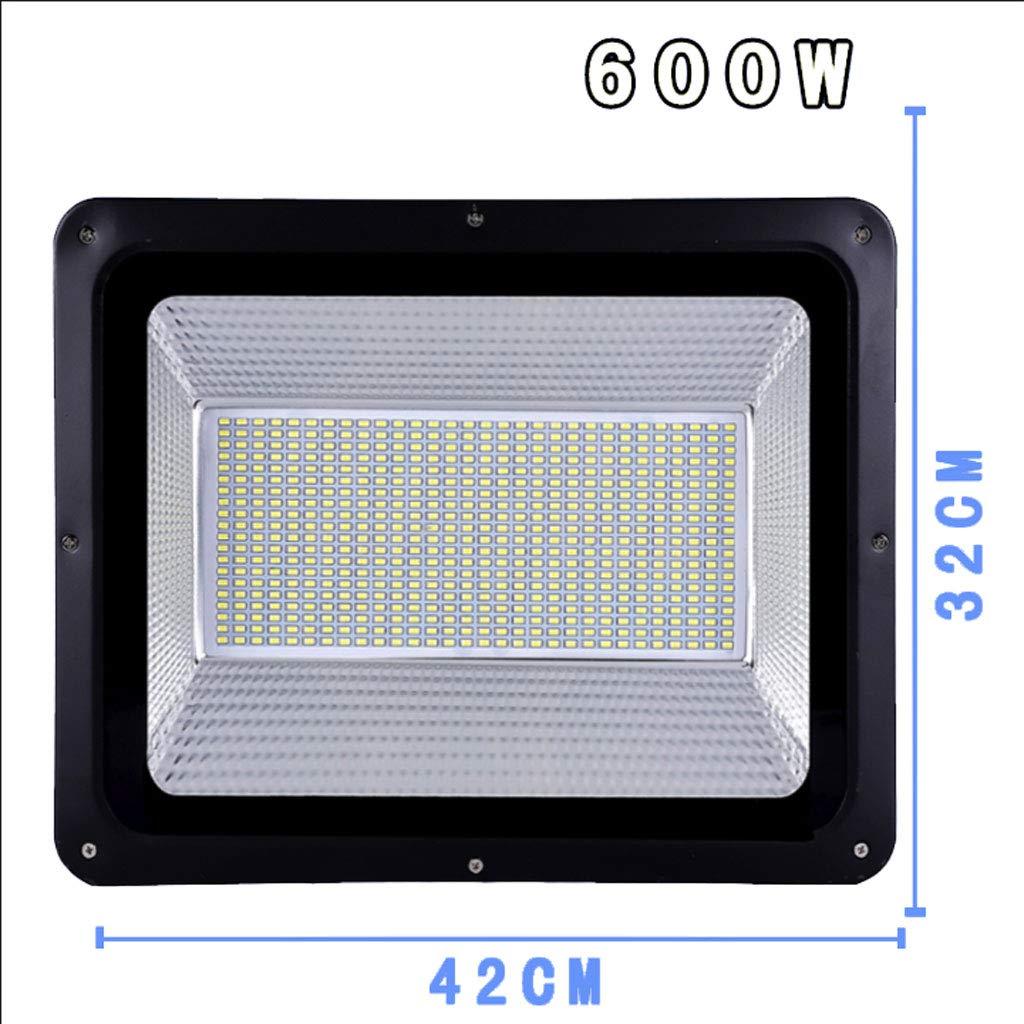 Csndice Home Faretto Led Esterno,Faretti a LED per l'illuminazione del posto di lavoro Super Bright Outdoor Impermeabile Luce di sicurezza IP65 66 (dimensioni   600W)