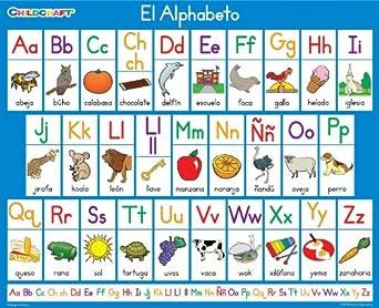 Amazon Childcraft Spanish Class Literacy Charts