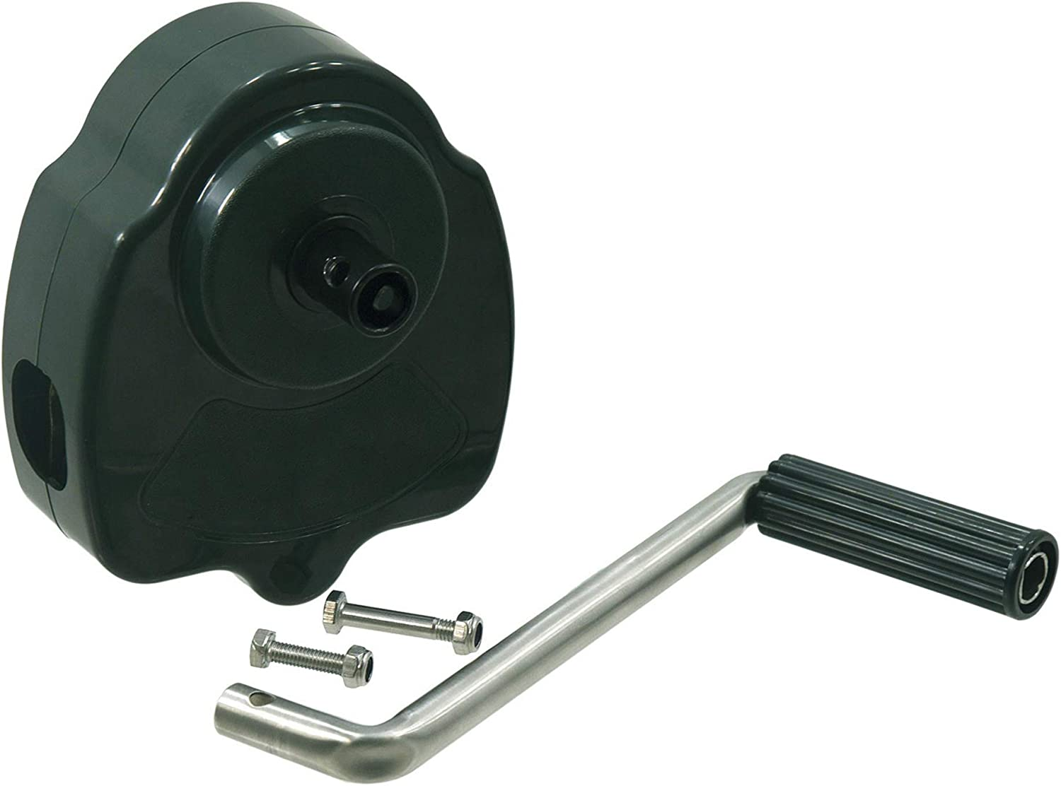 Easy to Adjust The Greenhouse Temperature KLLsmDesign Upgrade Greenhouse Sidewall Manual Hand Crank Winch for Greenhouse Ventilation,Greenhouse Film Raising//lowering Hand Crank Device