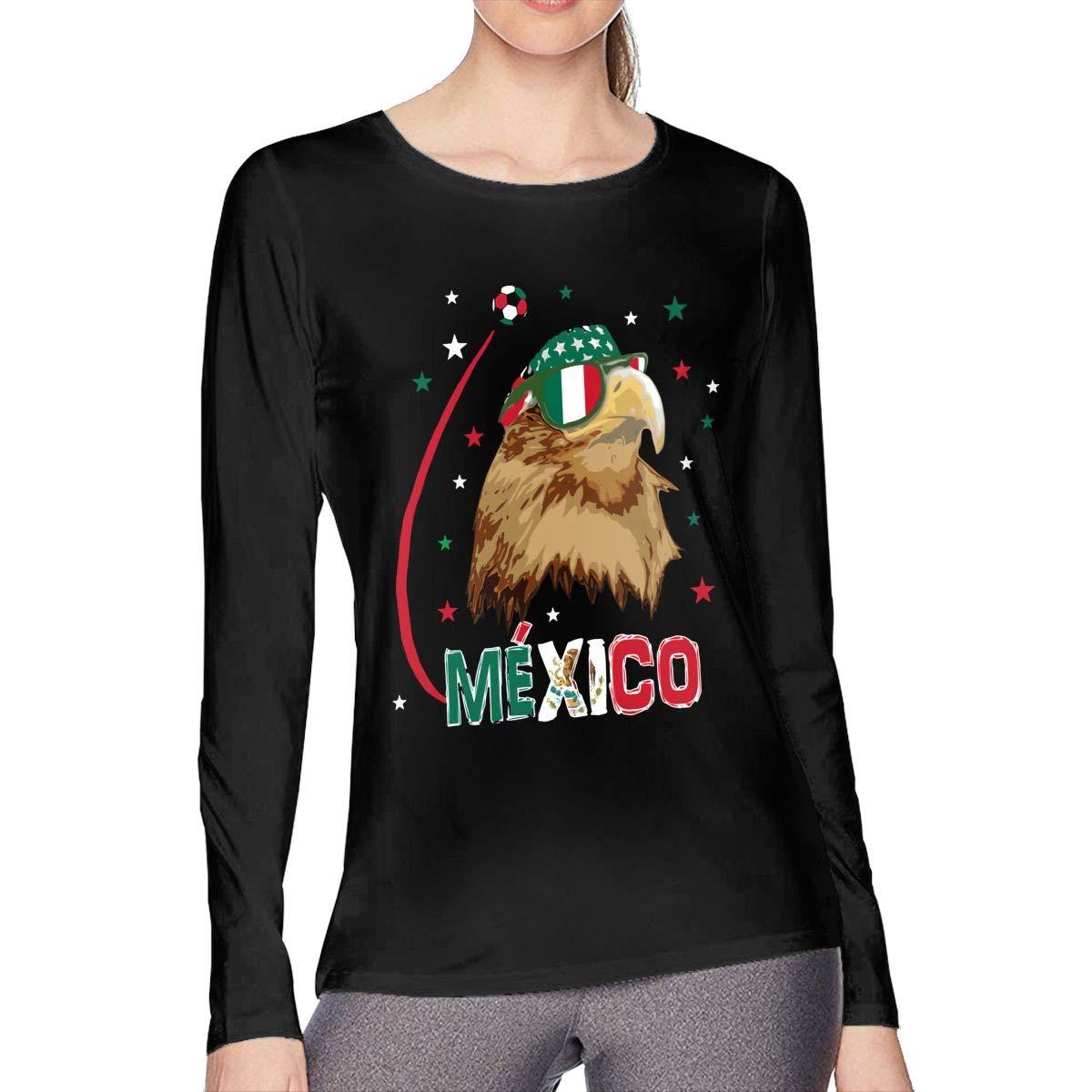 Mexico Eagle Soccer Woman T Shirt 1635