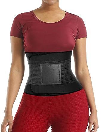 4f3a7f55fa7 Lover-Beauty Waist Cincher Belt for Women Steel Boned Workout Sport Girdle  Waist Trimmer Compression
