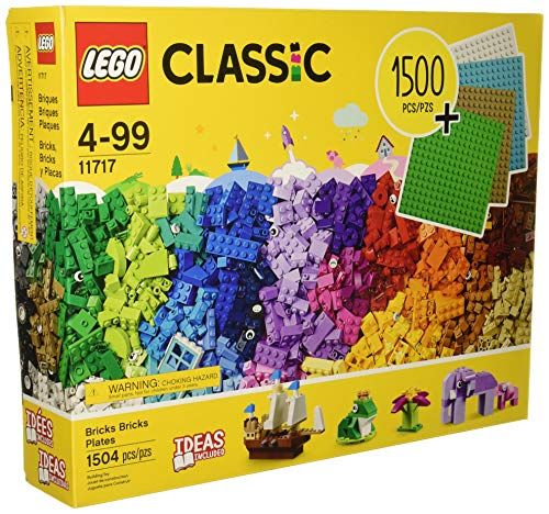 LEGO Classic Bricks Bricks Plates 1504 Pieces with Plates Included