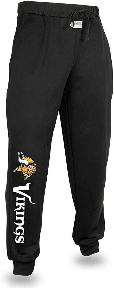 NFL Zubaz Mens Logo Joggers