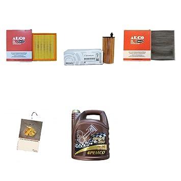 servicekit/filtro del paquete para BMW 5 litros pemco 5 W30 antifricción y 3 filtros: Amazon.es: Coche y moto