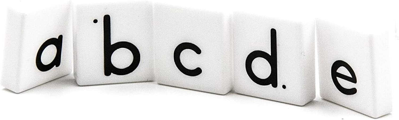 hand2mind ETA Alphabet Letter Tiles, 278 Lowercase Tiles