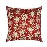 Nation Pillow Case Clearance ♥ Xmas Christmas Sofa Bed Home Decoration Festival Cushion Cover (H)