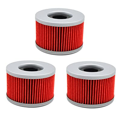 AHL 111 Oil Filter for Honda TRX680FA Rincon 680 2006-2016 (Pack of 3): Automotive
