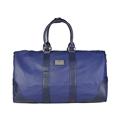 3bd669555c3f Versace V1969 Medium Travel Luggage Bag Eco-Leather Saffiano Removable  Shoulder Strap  Amazon.co.uk  Clothing