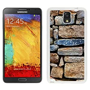 NEW Custom Diyed Diy For HTC One M7 Case Cover Phone With Stone Wall Texture_White Phone