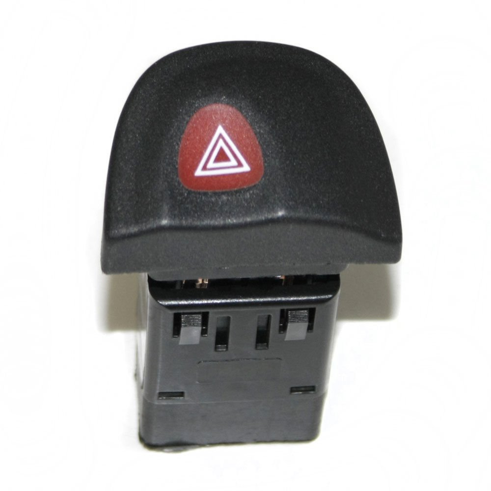 Boloromo RN0209 Hazard Warning Light Switch Indicator Relay Push Button For Megane Scenic OEM 7700435867 Black