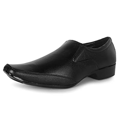 1bba9a561d9 Buwch Office Use Partywear Wedding Synthetic Leather Formal Shoe For Men  And Boys  Buy Online at Low Prices in India - Amazon.in