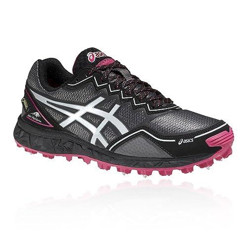 ASICS Donna Gel fujisetsu GORE TEX TRAIL RUNNING scarpe da ginnastica Black