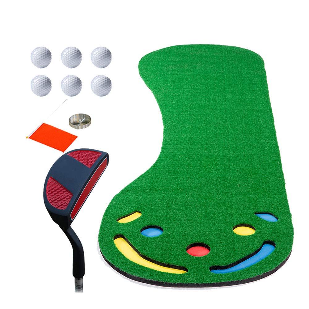 ゴルフパッティング練習/毛布屋内大人の子供ポータブルミニパッド足首セット(3m * 1m)   B07L1LN513