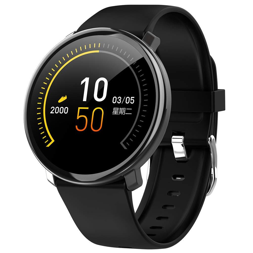 YEZIJIN Smart Watch Android iOS Sports Fitness Calorie Wristband Wear Smart Watch Under 40 Dollars