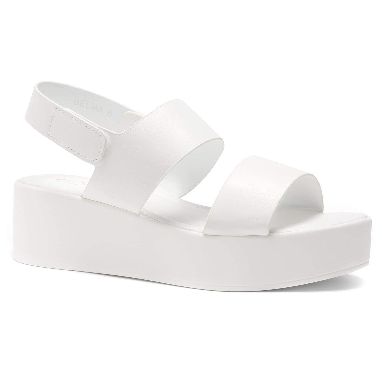 a4e9024e9d651 Herstyle Belma Women's Open Toe Ankle Strap Platform Wedge Sandals
