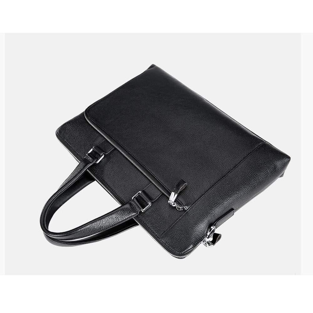 XFRJYKJ Mens briefcase Mens Handbag Business Bag Cross Section Briefcase Casual Computer Bag Mens Bag Slung Shoulder Bag 39/×7/×29cm