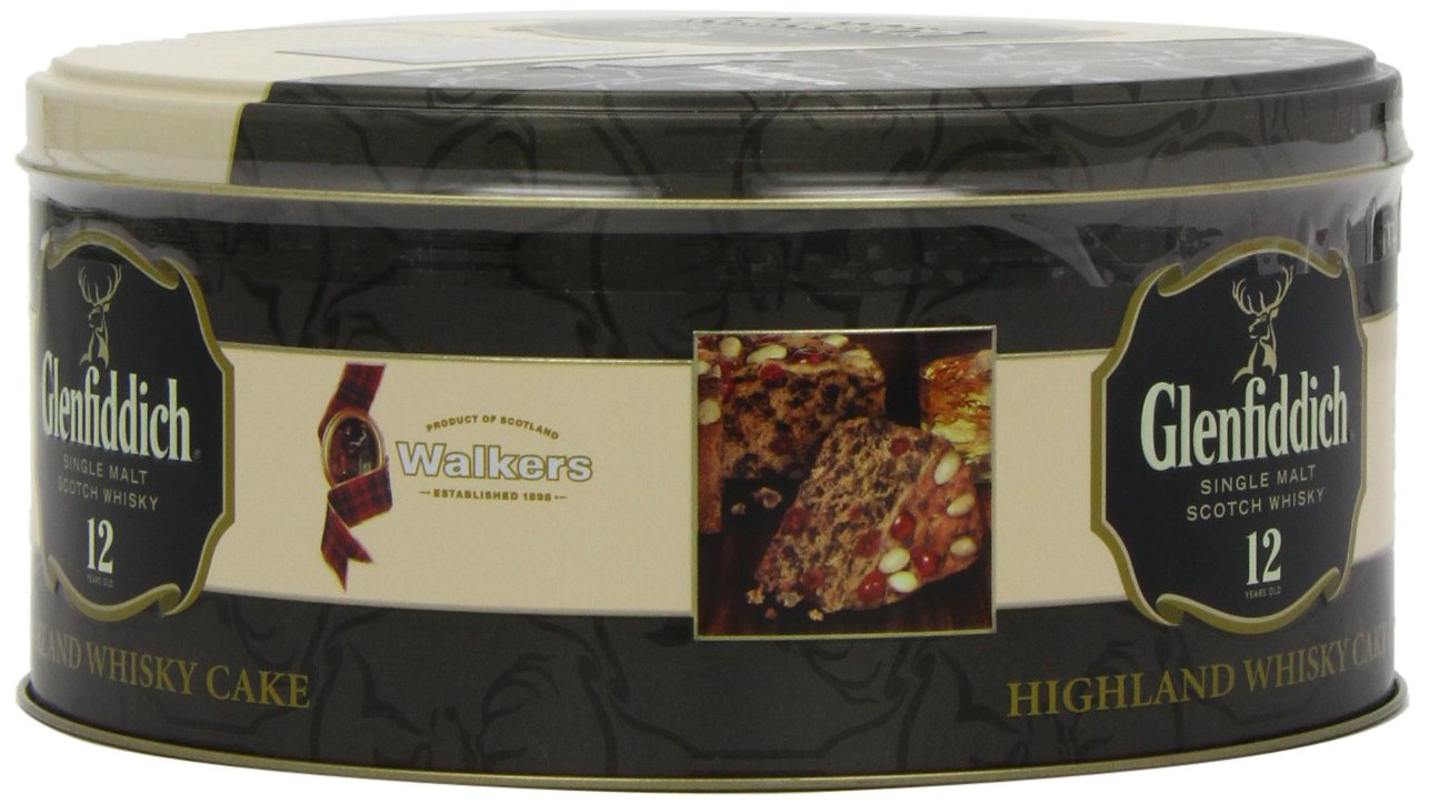 Walkers Shortbread Glenfiddich Highland Whisky Cake, 28.2 Ounce Tin Traditional Scottish Fruit Cake with Glenfiddich Malt Whisky, Cherries, Sultanas by Walkers Shortbread (Image #6)
