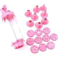 KABB Cookie Press Gun Kit, Pink