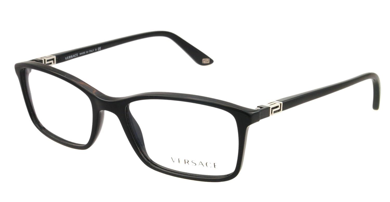 9a65caa36a Versace Eyeglasses VE 3163 BLACK GB1 VE3163  Amazon.co.uk  Health    Personal Care