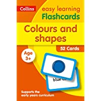 Colours and Shapes Flashcards: Ideal for Home Learning