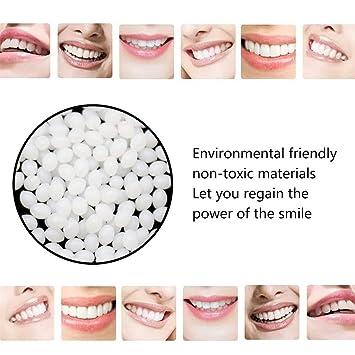 Amazon com: Jentouzz Quickly Repair False Teeth Solid Glue