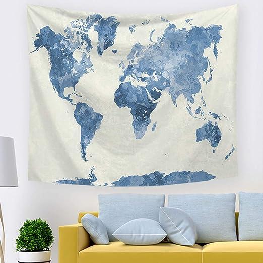 xkjymx Tapiz de Mapa 211361 100 * 70 cm de Espesor: Amazon ...